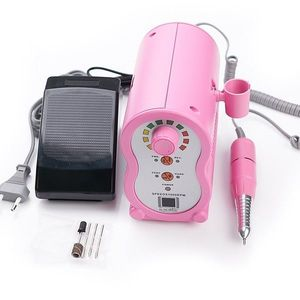 Freza electrica unghii X-PERT Ultra LUXORISE Germania, 35.000 RPM - Pink imagine