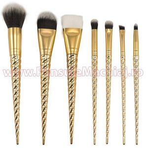 Set pensule de machiaj, Gold imagine