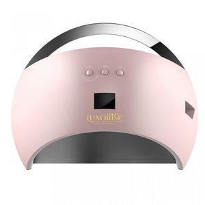 Lampa UV LED Hybrid 48W LUXORISE Germania, Display Digital SUN6, Double Light LED, Culoare Pink - Uscare Rapida imagine