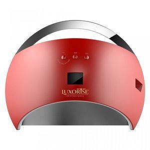 Lampa UV LED Hybrid 48W LUXORISE Germania, Display Digital SUN6, Double Light LED, Culoare Rosu - Uscare Rapida imagine