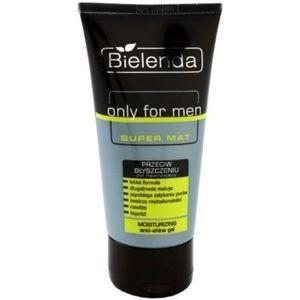Bielenda Only for Men Super Mat gel hidratant pentru piele lucioasa cu pori dilatati imagine