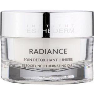 Institut Esthederm Radiance Detoxifying Illuminating Care Crema impotriva primelor semne de imbatranire pentru strălucirea și netezirea pielii imagine