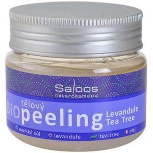 Saloos Bio Peeling exfoliant corporal cu lavandă și arbore de ceai imagine
