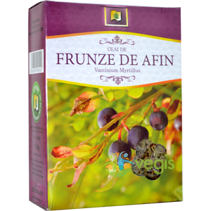 Ceai Afine Frunze 50gr imagine