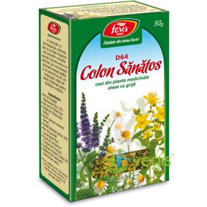 Ceai Colon Sanatos 50gr imagine