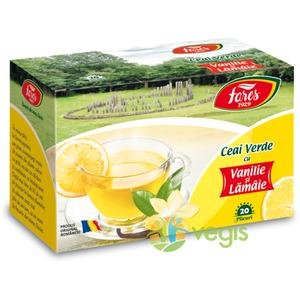 Ceai Verde Vanilie & Lamaie 20dz imagine