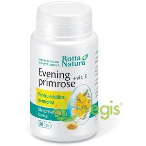 Evening Primrose (Luminita noptii)+Vitamina E 30cps imagine