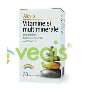 Vitamine Si Multiminerale 30cpr imagine