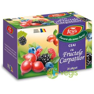 Ceai Aromfruct Fructele Carpatilor 20dz imagine