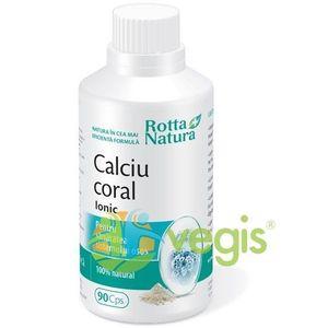Calciu Coral Ionic 90cps imagine