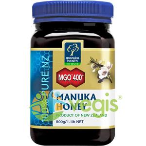Miere de Manuka (MGO 400+) 500g imagine