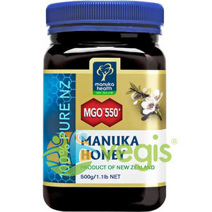 Miere de Manuka (MGO 550+) 500g imagine