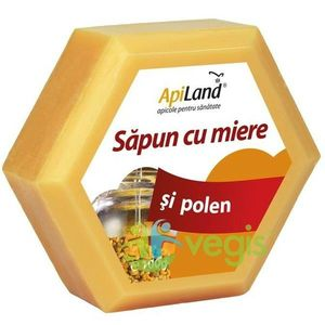 Sapun Natural Cu Miere Si Polen 100gr imagine