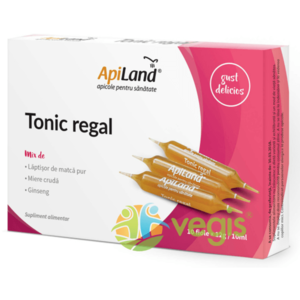 Tonic Regal 10 Fiole - Laptisor pur, miere si ginseng imagine