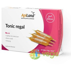 Tonic Regal 20 Fiole - Laptisor pur, miere si ginseng imagine