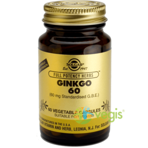 GINKGO BILOBA 60CPS imagine