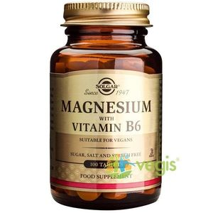 Magnesium+B6 100tb (Magneziu cu vitamina B6) imagine
