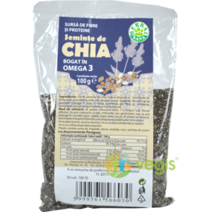 Seminte De Chia 100g imagine