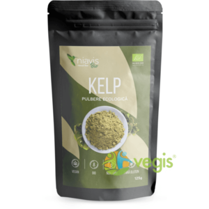 Kelp (Varec) Pulbere 100% Naturala 125g imagine