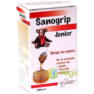 Sanogrip Junior 100ml imagine