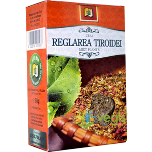 Ceai Reglarea Tiroidei 50gr imagine