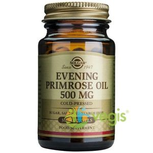 Evening Primrose Oil 500mg 30cps (Ulei de luminita noptii) imagine