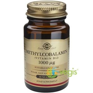 Methylcobalamin (Vitamina B12) 1000mcg 30tb (Metilcobalamina) Sublinguale imagine