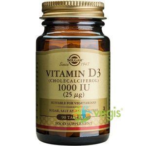 Vitamina D3 1000iu 90tb imagine