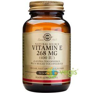 Vitamina E din surse naturale 268 mg (400 UI) 50cps imagine
