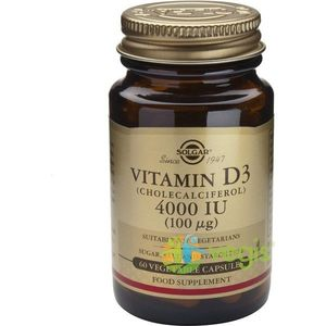 Vitamina D3 4000iu 60 caps veg imagine