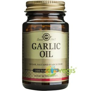Garlic Oil 100cps Moi (Ulei de usturoi) imagine