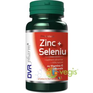 Zinc Seleniu Cu Vitamina C Naturala 60cps imagine