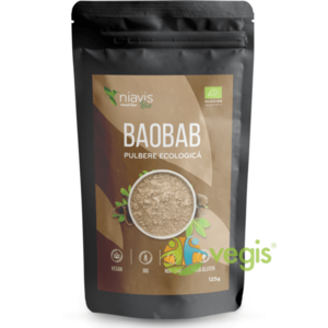Baobab Pulbere Ecologica/Bio 125g imagine