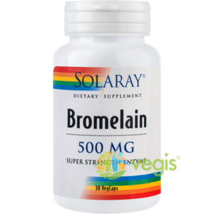 Bromelain 500mg 30cps imagine
