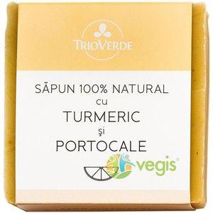 Sapun Natural Cu Turmeric Si Portocale 110Gr imagine