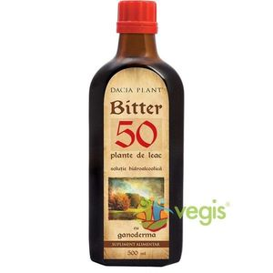 Bitter 50 Cu Ganoderma Remediu 500ml imagine