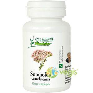 Somnofort cu melatonina 60Cpr imagine