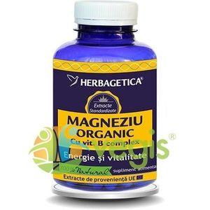 Magneziu Organic Cu B Complex 120Cps imagine