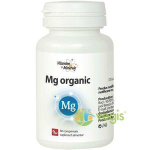 Magneziu Organic 60cpr Dacia Plant imagine