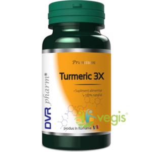 Turmeric 3X - 60cps imagine