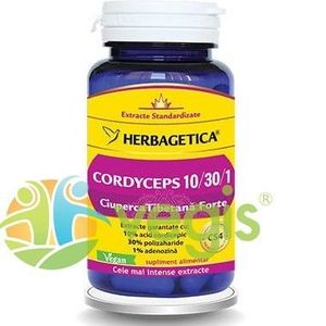 Cordyceps - Ciuperca Tibetana Forte 60Cps imagine