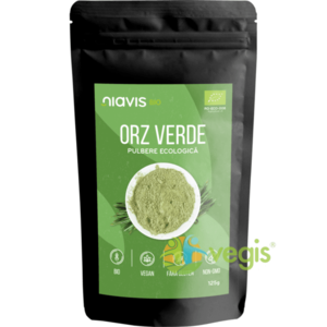 Orz verde pulbere bio 125g imagine