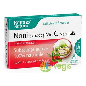 Noni Extract + Vitamina C Naturala 30cpr imagine