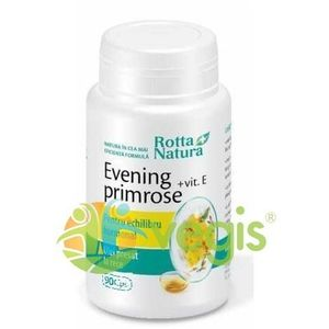 Evening Primrose (Luminita noptii)+ Vitamina E 90cps imagine