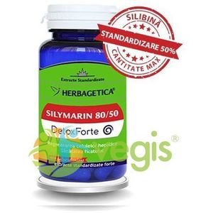 Silymarin 80/50 (Silimarina) Detox Forte 60Cps imagine