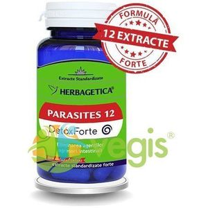 Parasites 12 Detox Forte 60Cps imagine