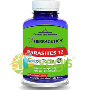 Parasites 12 Detox Forte 120Cps imagine