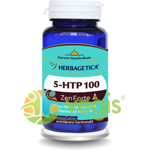 5-Htp 100 Zen Forte 60Cps imagine