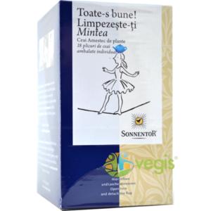 Ceai Toate-s Bune Limpezeste-ti Mintea Ecologic/Bio 18dz imagine