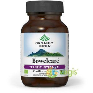 Bowelcare Tranzit Intestinal Eco/Bio 60cps veg imagine